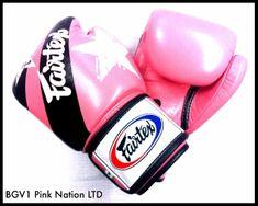 """Fairtex Fairtex Boxerské rukavice """"Nation Prints"""" BGV1 - růžové"""