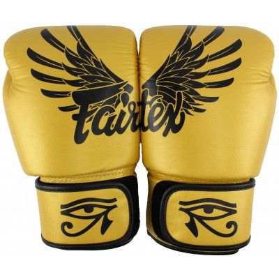 Fairtex Fairtex Boxerské rukavice BGV1 FALCON GOLD