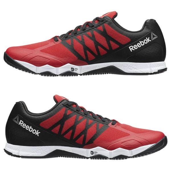 Reebok REEBOK Pánské boty CROSSFIT SPEED TR - červeno černé 02418ecd456