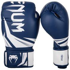 VENUM Boxerské rukavice VENUM CHALLENGER 3.0 - modro/bílé