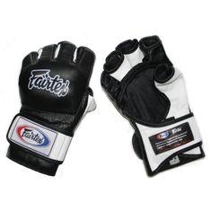 Fairtex Fairtex MMA rukavice FGV13 - černobílé