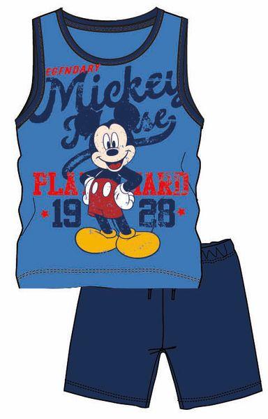 45f3f46af040 Disney by Arnetta chlapecký letní set Mickey Mouse