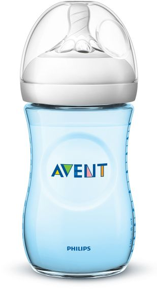 Philips Avent Láhev Natural 260 ml, modrá