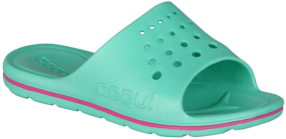 Coqui dievčenské papučky Long 32.5 zelené
