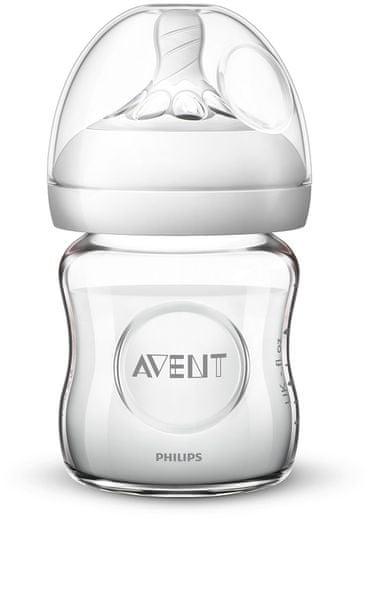 Philips Avent Láhev Natural skleněná 120 ml