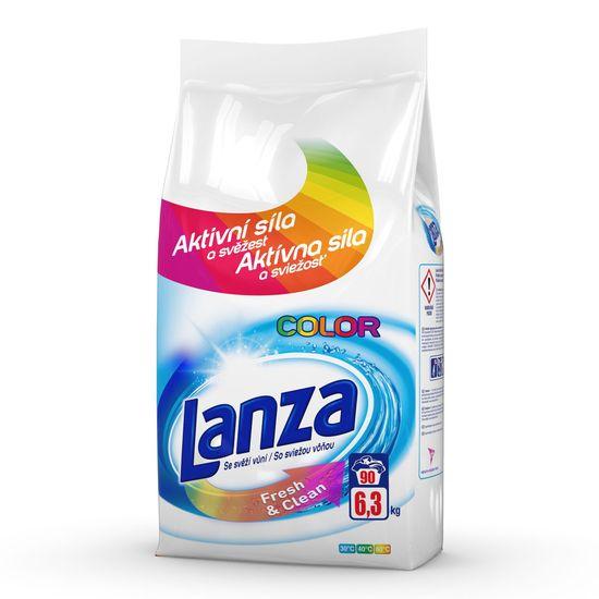Lanza Fresh&Clean na farebnú bielizeň 6,3 kg / 90 pracích dávok