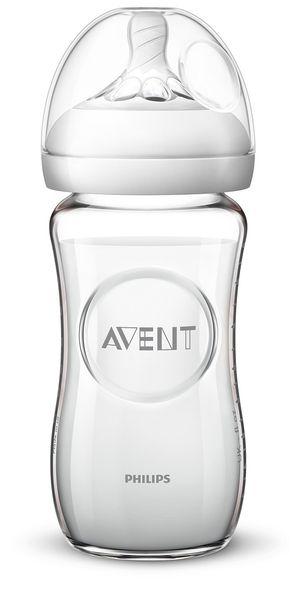 Philips Avent Láhev Natural skleněná 240 ml