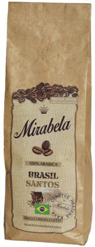 Mirabela čerstvá káva Brasilia Santos 225g