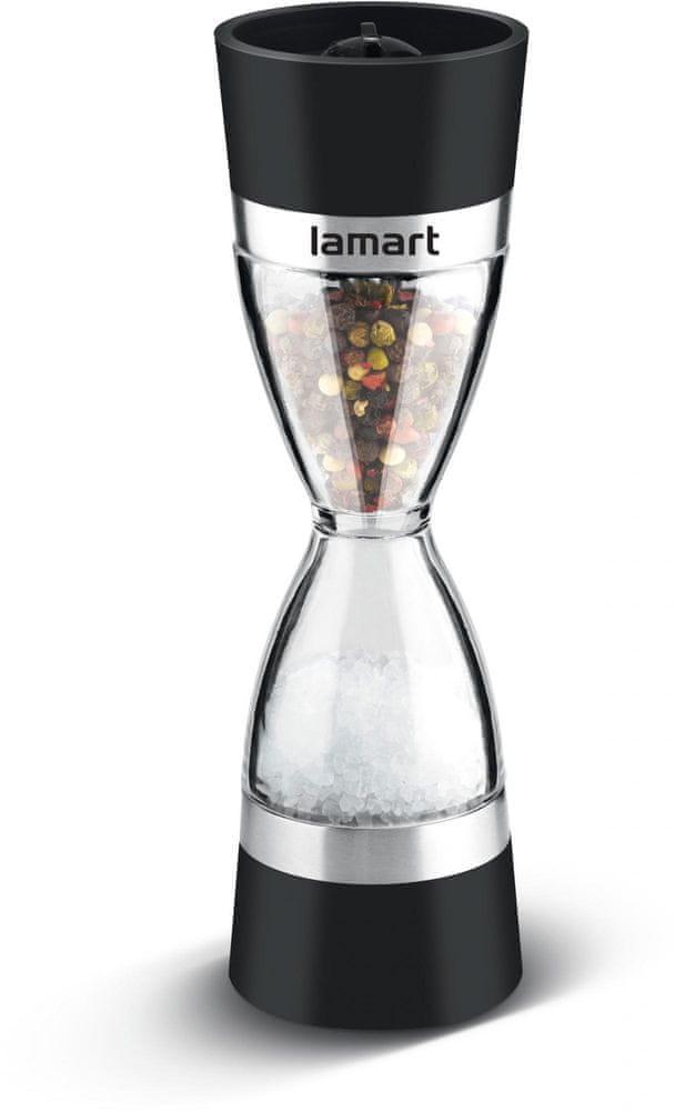 Lamart LT7045 mlynček 2 x 60 ML SANDGLASS