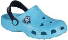 Coqui chlapecké sandály Little Frog 25.5 světle modrá
