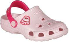 Coqui dívčí sandály Little Frog 23.5 světle růžová