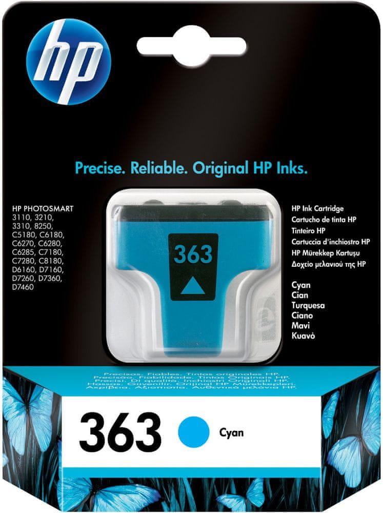 HP náplň č.363, azurová (C8771EE)