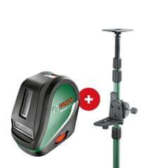 Bosch križni laser UniversalLevel3 + teleskopska palica TP320 (0603663902)