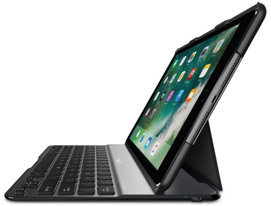 """Belkin Bluetooth klávesnice s pouzdrem pro iPad Air a iPad 9,7 """" 2017 a 2018 F5L904eaBLK"""
