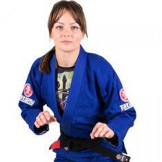 Tatami Fightwear TATAMI Dámské kimono Blue Nova Minimo 2.0 - modré