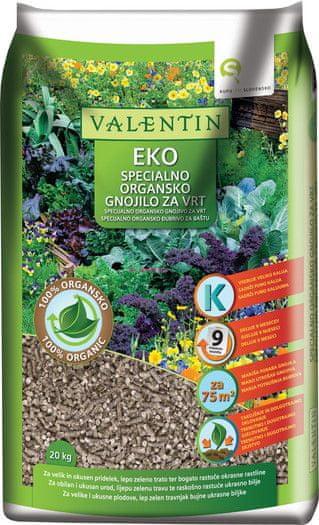 Valentin EKO specialno organsko gnojilo, 20kg