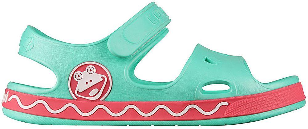 Coqui dívčí sandály Fobee 28.5 zelená