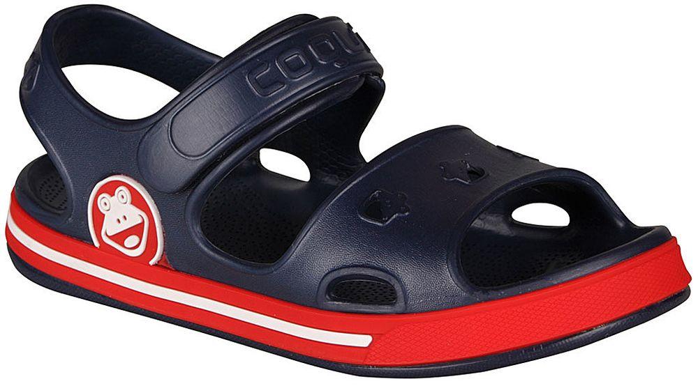 Coqui chlapecké sandály Fobee 32.5 modrá