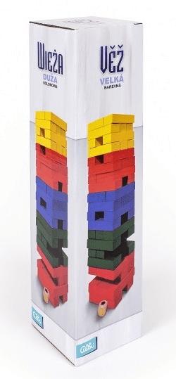 Albi Veža farebná veľká s kockou