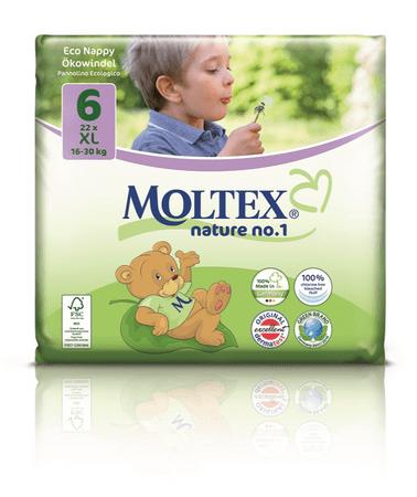 MOLTEX plenice Nature Eco No.1, XL,16–30kg, 22