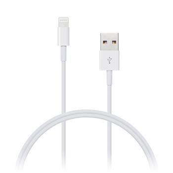 Connect IT Wirez Apple Lightning - USB, bílý, 1 m CI-159
