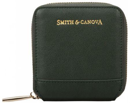 Smith & Canova dámská peněženka tmavě zelená