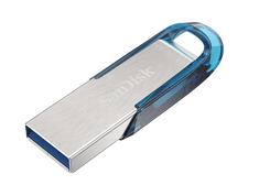 SanDisk Ultra Flair™ USB 3.0 128 GB, modrá (SDCZ73-128G-G46B)