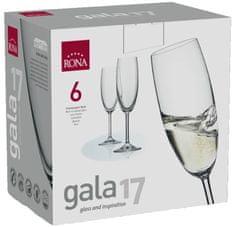 Rona Select Sklenice GALA sekt 175 ml 4 ks