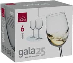 Rona Select Pohár GALA biele víno 250 ml 6 ks