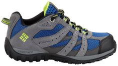 COLUMBIA YOUTH REDMOND WATERPROOF-Azul, Bright Gr