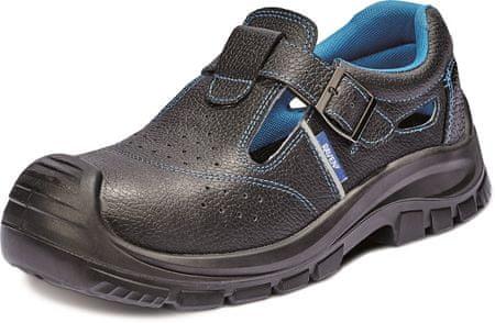 Raven Bezpečnostné sandále XT S1 čierna 43