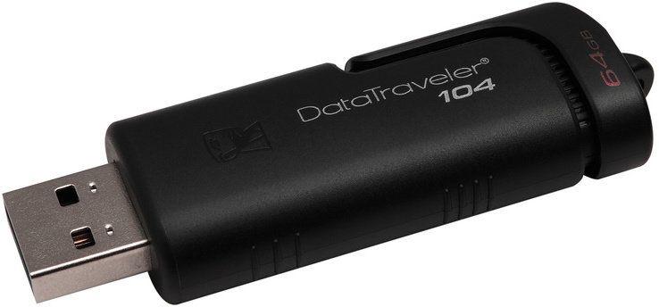 Kingston DataTraveler 104, 64GB (DT104/64GB)