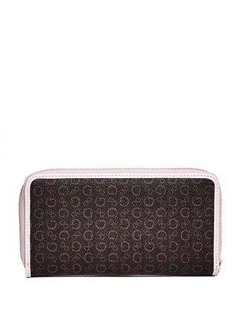Dámska peňaženka Factory Women`s Gilmore Logo Zip-Around Wallet Natural  Multi aff63ba9115