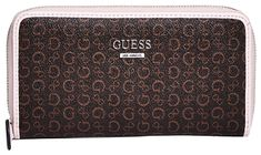 Guess Női pénztárca Factory Women`s Gilmore Logo Zip-Around Wallet Natural Multi