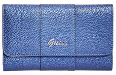 Guess Női pénztárca Factor y Women`s Desmond Slim Wall et Clutch Midnight Blue