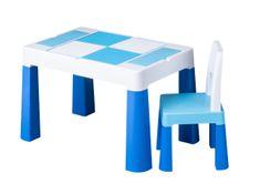 Tega Baby Sada nábytku pro děti Multifun - stoleček a židlička - modrá