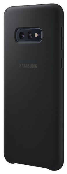 Samsung Ochranný kryt Silicone Cover pro Galaxy S10e černý EF-PG970TBEGWW