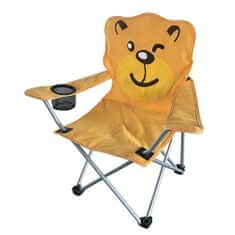 Zložljiv stol medved za otroke, 35x35x55 cm