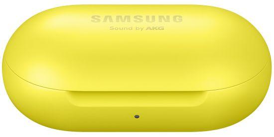 SAMSUNG Bluetooth slúchadlá Galaxy Buds SM-R170NZYAXEZ, žltá - rozbalené