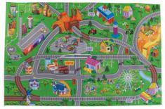 Sun Baby Hrací koberec pro děti Cars 01 B05.040.1.1
