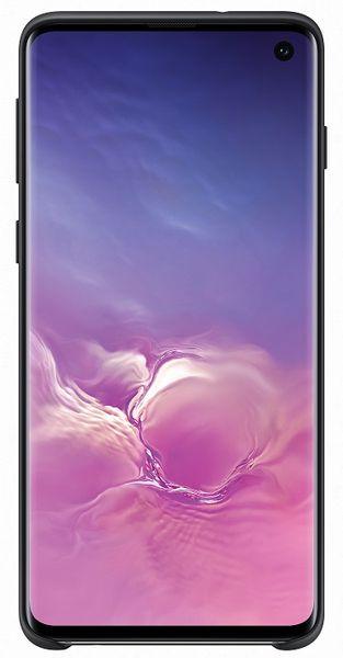 Samsung Ochranný kryt Silicone Cover pro Galaxy S10 EF-PG973TBEGWW - černý
