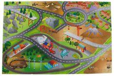 Sun Baby Hrací koberec pro děti Cars 01 B05.041.1.1