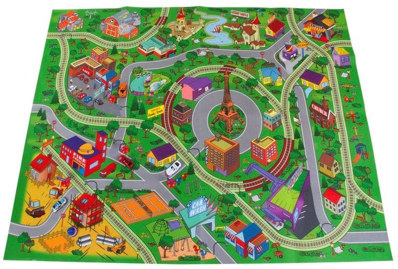 Sun Baby Hrací koberec pro děti Cars 01 B05.039.1.1