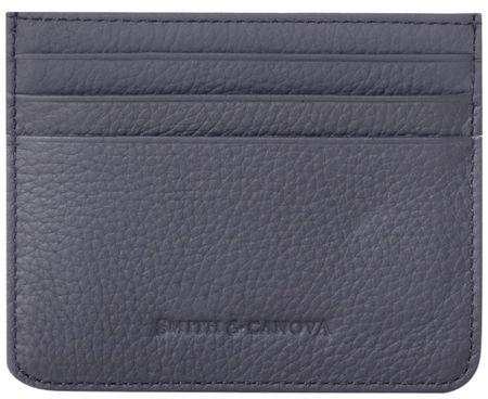 Smith & Canova pouzdro do peněženky šedá