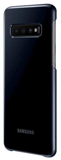 Samsung ovitek Samsung Galaxy S10 LED Cover, črn