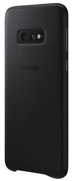 Samsung Ochranný kryt Leather Cover pro Galaxy S10e černý, EF-VG970LBEGWW