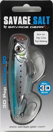 Savage Gear Wobler 3D Minnow Pop Blue Sardine 8 cm, 14 g