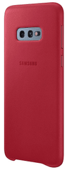 Samsung ovitek za Samsung Galaxy S10e, usnjen, rdeč