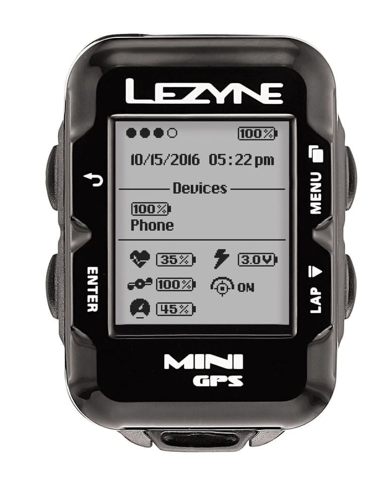 Lezyne Mini GPS Black