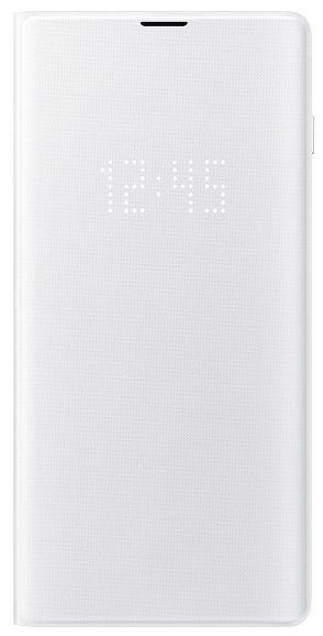 Samsung Flipové pouzdro LED View Cover pro Galaxy S10 plus, bílé EF-NG975PWEGWW